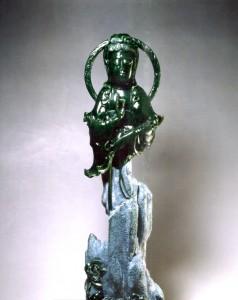 1999捐出作品「自在觀音」