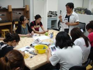 2009國立臺灣工藝研究所「玉石雕刻」教師