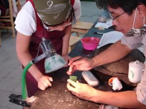 2010國立臺灣工藝研究所「玉石、寶石雕刻人才培育」